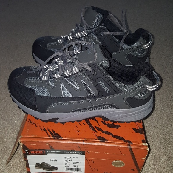 Mens Worx Aluminum Toe Safety Footwear